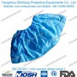 使い捨て可能な医学の非編まれた靴はQk-Sc001を覆う
