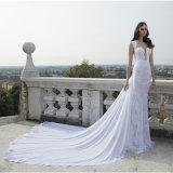 Платье венчания Bridal мантии шнурка Berta отвесное заднее (Dream-100102)