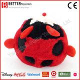 Juguete animal relleno del bebé de la felpa del Ladybug
