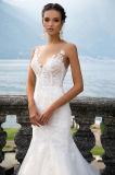 Genvy Nixe-mehrschichtige Hochzeits-Kleider mit dem Fishbone