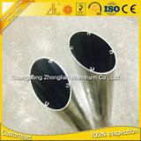 Tubo ovale di alluminio del tubo di Alu del rifornimento della fabbrica di profilo di alluminio ovale piano dell'espulsione