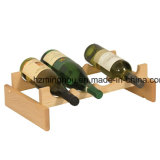 Estante de madera sólido del vino del precio competitivo