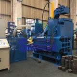 O aço horizontal da velocidade lasca a máquina da ladrilhagem para recicl