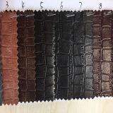 袋、靴、衣服のための新しい流行デザインワニPUの総合的な革。 (HS-Y19)