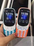 공장 도매 작은 이중 SIM는 대기 싼 노인 이동 전화 2.4 Nokia 3310#를 위한 롤 가장자리 Screeen 전화에서 이중으로 한다