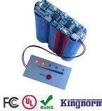 18650 9.6V 3ah LiFePO4 Batterie für LED-Licht