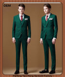 卸し売り習慣人のための3つの部分のウェディングドレスのスーツ