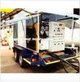 Máquina móvel montada reboque da purificação de petróleo do transformador (ZYM)