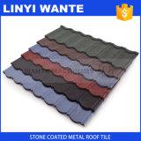 Toit en acier enduit de classique de tuiles de toit de pierre de Chine