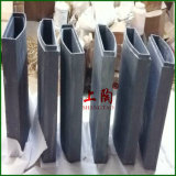 Al2O3 Alumina Ceramic Muffle Furnace Core pour Fourneau de Cupellation