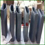 Base de cerámica del horno de mufla del alúmina Al2O3 para el horno de Cupellation