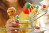 Bunte interessante Wissenschafts-Ausbildung neun Plante vorbildliche Spielwaren