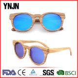 Natural nenhuns óculos de sol de madeira da forma do logotipo (YJ-MB480)