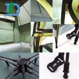 Einfaches Gebäude-automatisches wanderndes doppelte Schicht-wasserdichtes kampierendes Zelt