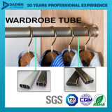 Aluminiumprofil T5 des strangpresßling-6063 für kundenspezifisches Garderoben-Gefäß-Oval Rod