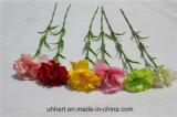 Preiswerte künstliche weiße einzelne Stamm-Gartennelke-Blumen für Tag des Mutter