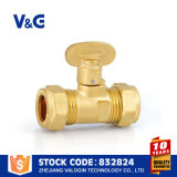 Латунный шариковый клапан газа (VG-A61112)