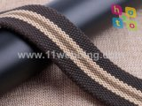 Stripe Polyester Cotton Woven Webbing for Belt