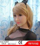 158cm lebensgrosse Silikon-Geschlechts-Puppe mit dem realen Anus oral