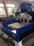 Máquina de grabado de madera del CNC de la columna de las escaleras