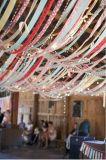 Het Afgedrukte Lint van Wholesales Kerstmis voor Festival Decoratcion