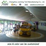 Tente murale en verre extérieur avec poteaux en aluminium pour événement ou exposition