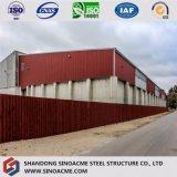 Pianta di fabbrica veloce africana della struttura d'acciaio dell'installazione/memoria liberata di/magazzino