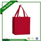 Pode adicionar o saco de mantimento não tecido Extra-Largo do Tote do pedido feito sob encomenda do logotipo