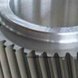CNC de trituração de giro do torno que faz à máquina a engrenagem feita à máquina do aço inoxidável
