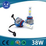 가장 새로운 LED H4 12V G7 H8 H11 H16 옥수수 속 차 LED 헤드라이트