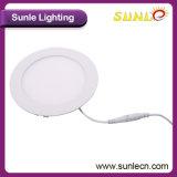 Lâmpada de painel do diodo emissor de luz do excitador IP44 24W de Sunle PF95% (SL-MB024)