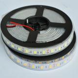 5050 60LEDs/M 12V imprägniern weißes LED-flexibles Streifen-Licht