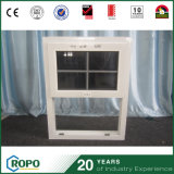 La vetratura doppia ha appeso la finestra esterna della finestra UPVC con il disegno della griglia