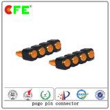 Pin Wearable de Pogo do carregador do sinal da transmissão de 4pin SMT