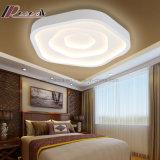 寝室のための功妙な三色のローズの整形照明天井ランプ
