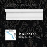 Corniche de polyuréthane de décoration de plafond d'unité centrale moulant Hn-85133