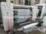 Rodillo horizontal del papel de aluminio del marco a rodar rajando la máquina del rebobinado