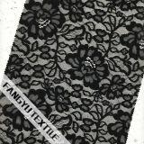 活発で、美しいデザイン綿のナイロンレースファブリック