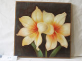 Картина декоративной холстины дома картины цветка яичка вися