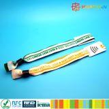 braccialetto dei wristbands delle soluzioni ntag213 di evento della codifica NFC di 4byte UID