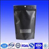 Levar in piedi in su il sacchetto del pacchetto del caffè con la chiusura lampo