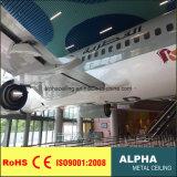Plafond en U de panneau de cloison en métal en aluminium