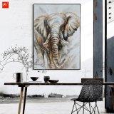 ハンドメイドのホーム装飾象のキャンバスの絵画