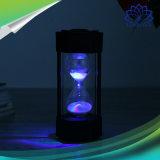 Диктор Bluetooth Hourglass мультимедиа портативный с изменять светлого цвета СИД