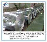 Bobines galvanisées plongées chaudes d'acier de produit plat (GI)