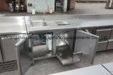 販売のための専門のステンレス鋼のサラダバッフェ冷却装置