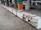 Convoyeur à bande fixe horizontal de grande brique de capacité productive