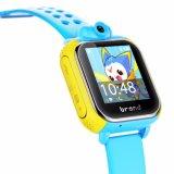 Безопасность Smartwatch малыша отслежывателя WiFi с положением GPS камеры