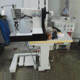 Teste padrão da parte superior de sapata que dá forma diretamente à máquina de costura do Moccasin dobro da agulha