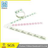 Wristband disponible de encargo de Tyvek, pulsera de la identificación Tyvek